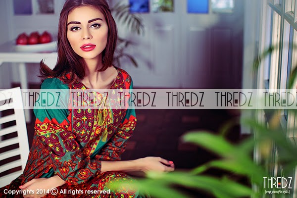 Thredz Cambric Winter Dresses 2015