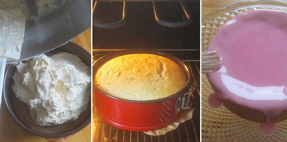 Zubereitung Blutorangen-Marzipan-Kuchen