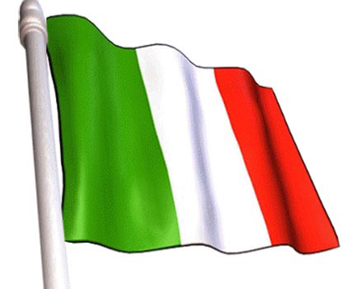 Waving Italian Flag Drawing   www.imgkid.com - The Image ...