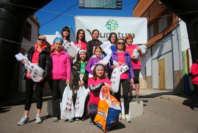 II Cursa de la Dona 09/03/2014