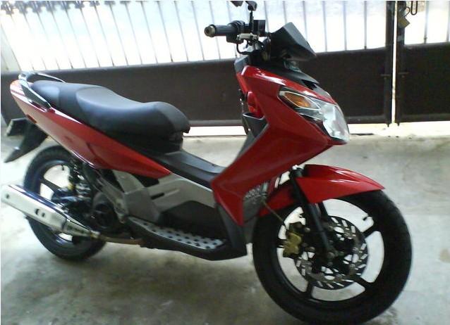 Foto Modifikasi Yamaha Nouvo Z