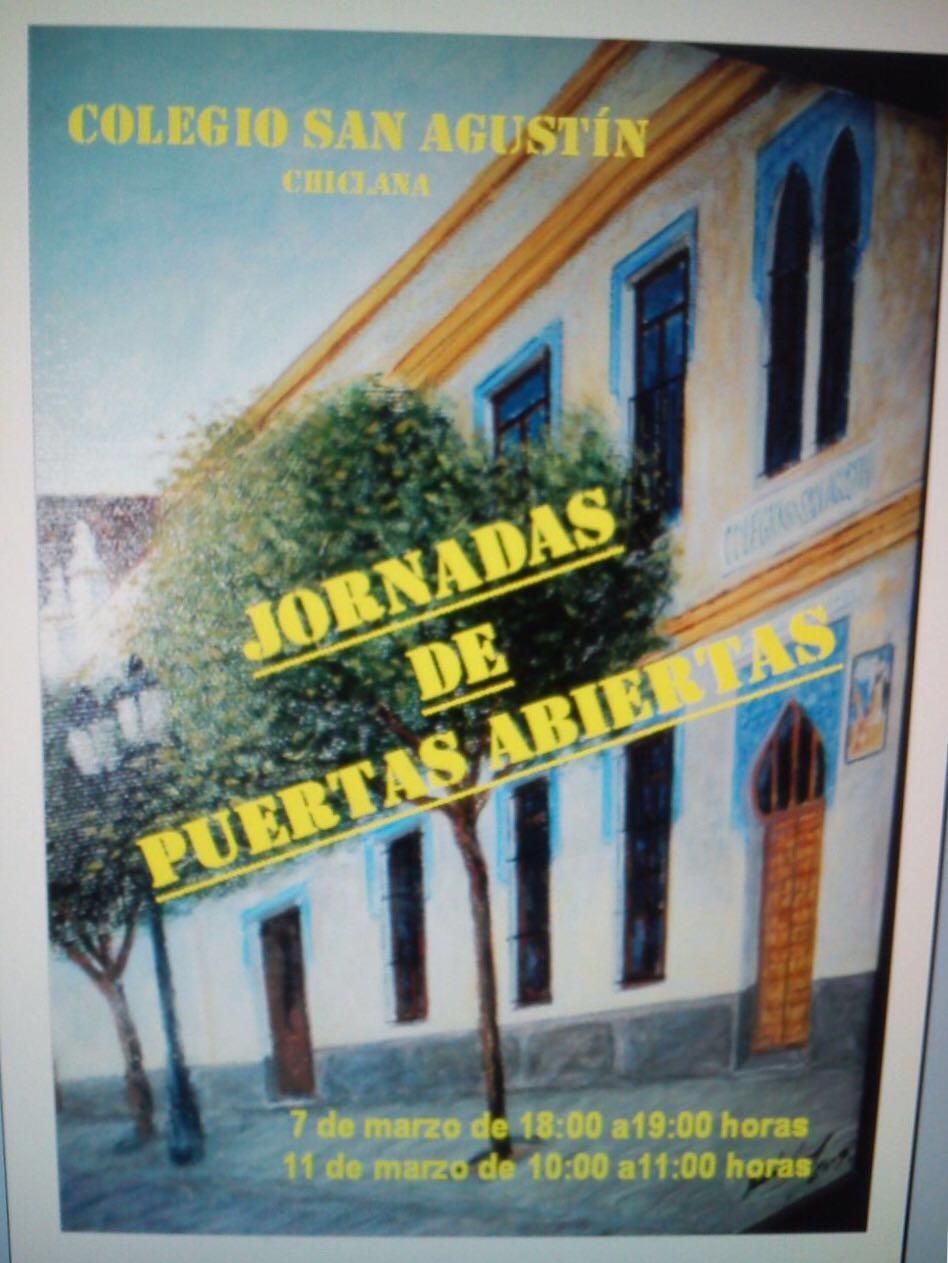JORNADAS DE PUERTAS ABIERTAS.