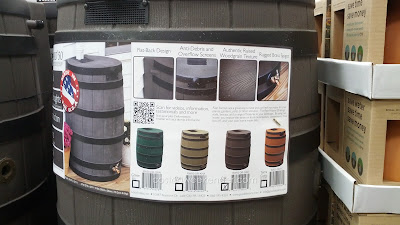 Good Ideas Rain Wizard 50 Gallon Rain Barrel: great for droughts, water shortages, and your backyard