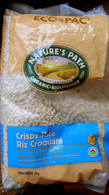 Nature's path crispy rice cereal