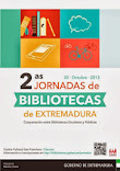 II JORNADAS DE BIBLIOTECAS de EXTREMADURA