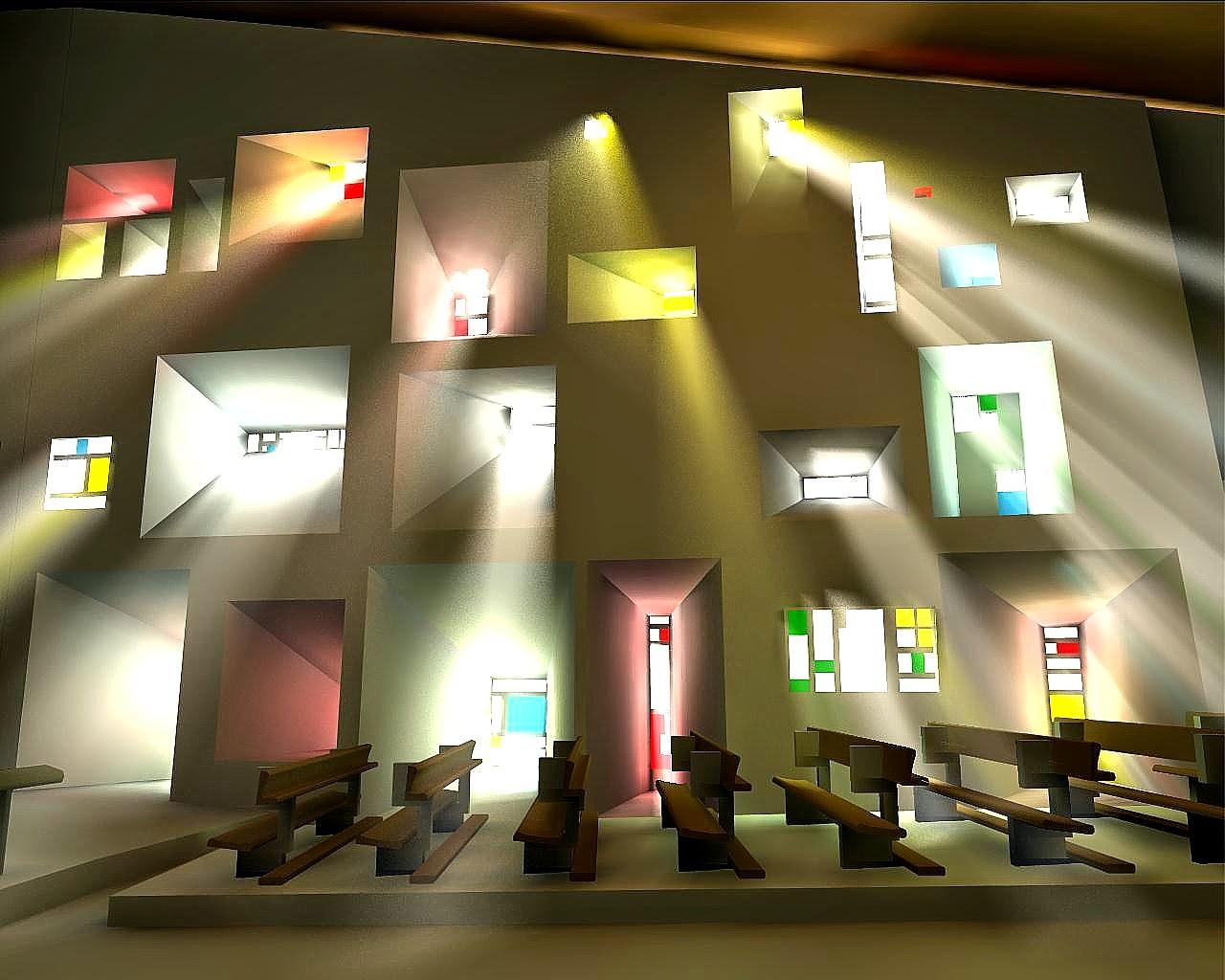 Art now and then notre dame du haut ronchamp france for Les architectures