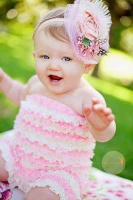 Beautiful Baby Girl Smiling