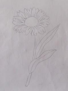 σχέδιο, λουλούδια, κέντημα