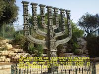 MENORAH (CANDELABRO) - ISRAEL exodo25-31