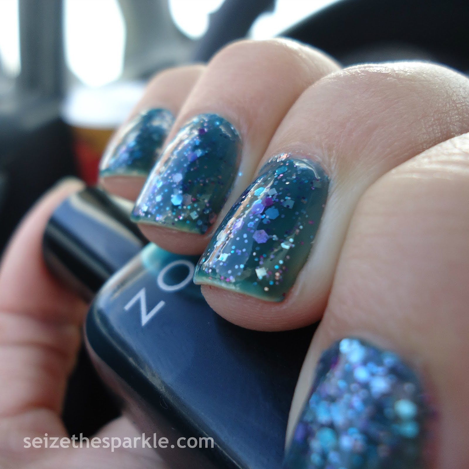 Zoya Frida Jelly Glitter Sandwich