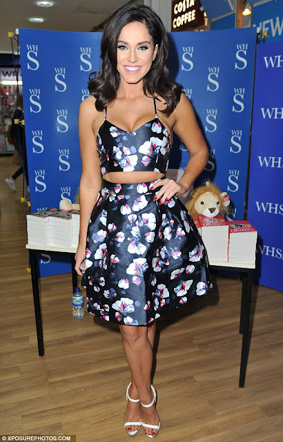 Television Personality, @ Vicky Pattison - at a book signing in Newcastle