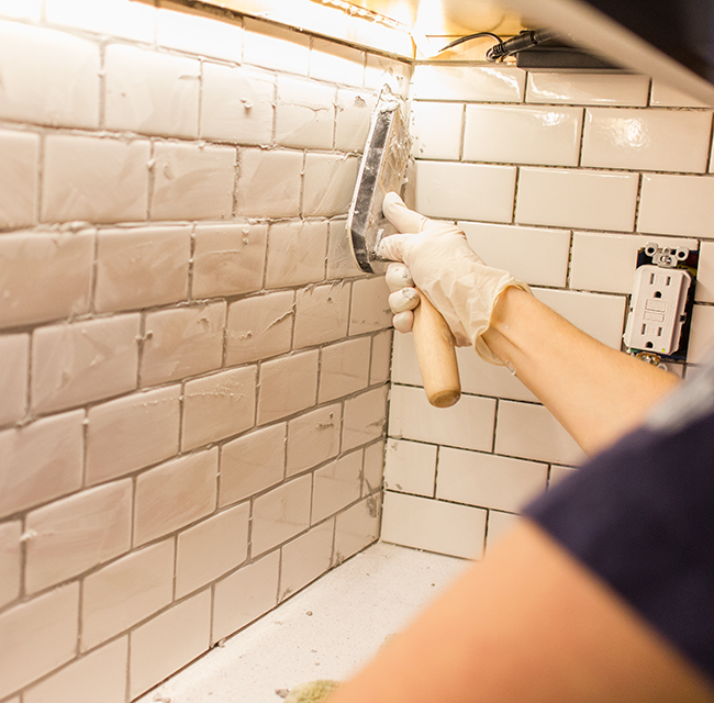 jenna sue kitchen chronicles a diy subway tile backsplash part 2