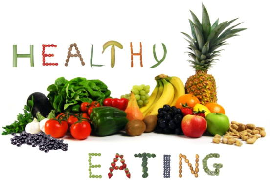 Healthy is moderation and balance.
