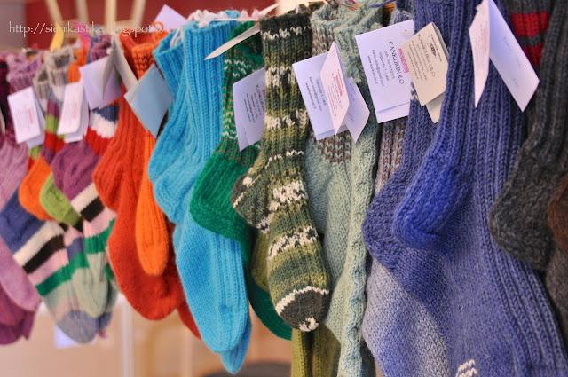 winter socks, villasukat