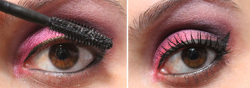 8 Tutorial de Maquiagem: Rosa e Roxo   Pink Gloss