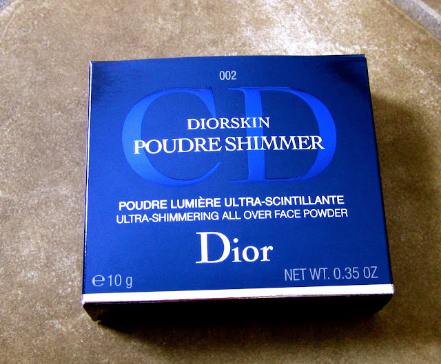 Dior Amber Diamond Packaging  - Beautiful Shimmery Bronze Glow Highlighter