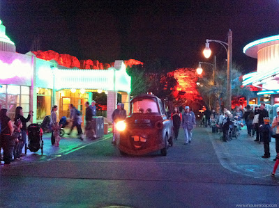 Cars Land Carsland Mater DCA Disney California Adventure