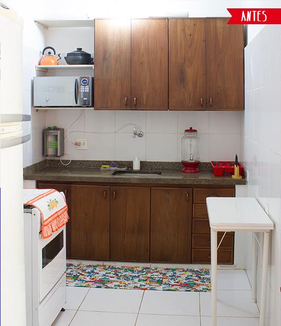 Como renovar a cozinha com papel Contact! (e super barato!)