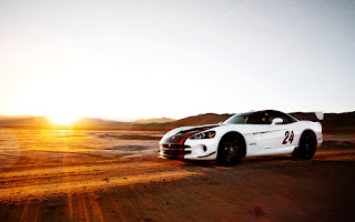 White Dodge Viper Acr HD Wallpaper
