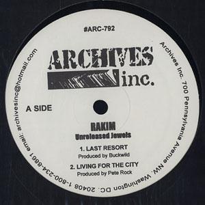 Rakim - Get Visual