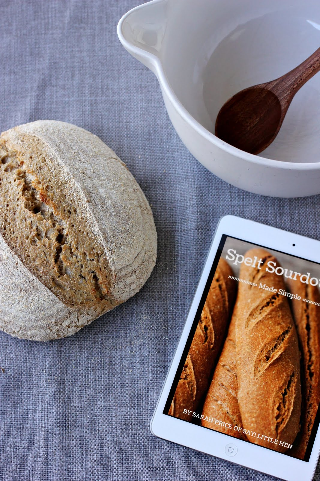 Spelt Sourdough Made Simple eBook