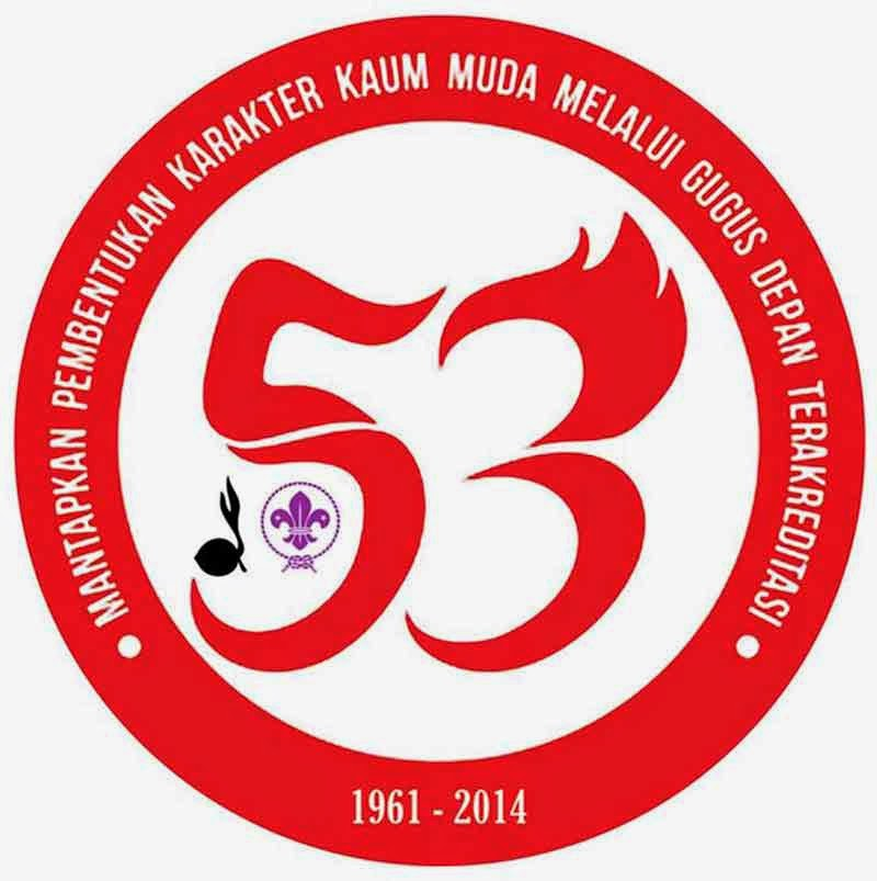 Logo hari pramuka tahun 2014