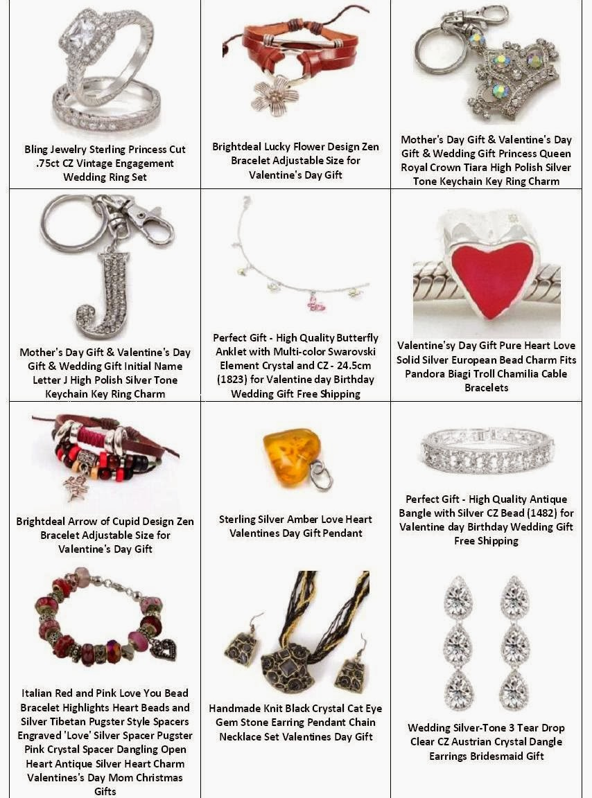 Find Best Valentines Gift For Her  --> Jewelry - Novelty Jewelry