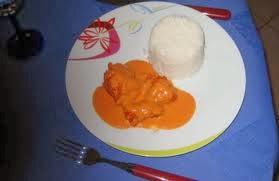 salsa rosa pescado caliente