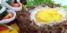 cara membuat telur ceplok, telur ceplok mata sapi, telur ceplok kentang, makanan, lezat, bergizi