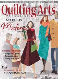 Quilting Arts Oct/Nov 2020