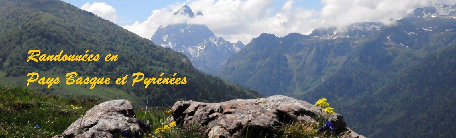 Randonnées en Pays Basque et Pyrénées