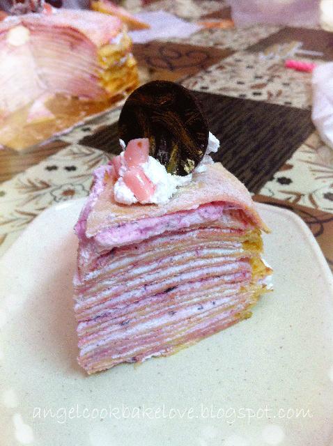 Taro Crepe Cake Recipe