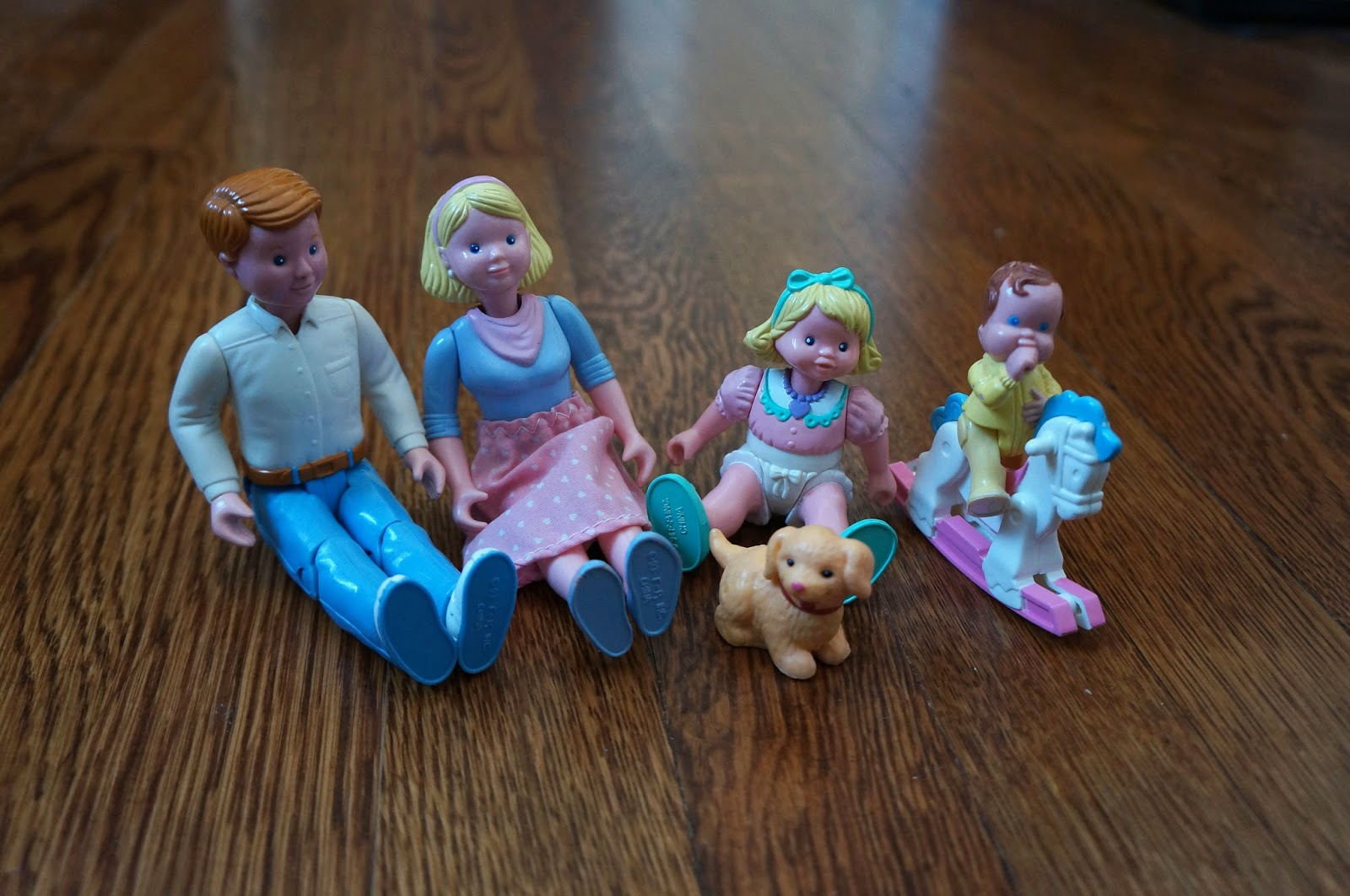 Vintage Toys 3- Fisher Price Loving Family dolls