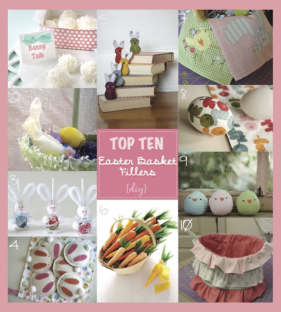 meags and me Top Ten Easter Basket Fillers #DIY