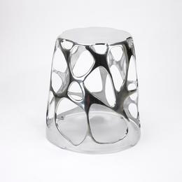 Tabouret en aluminium  poli pour Umbra