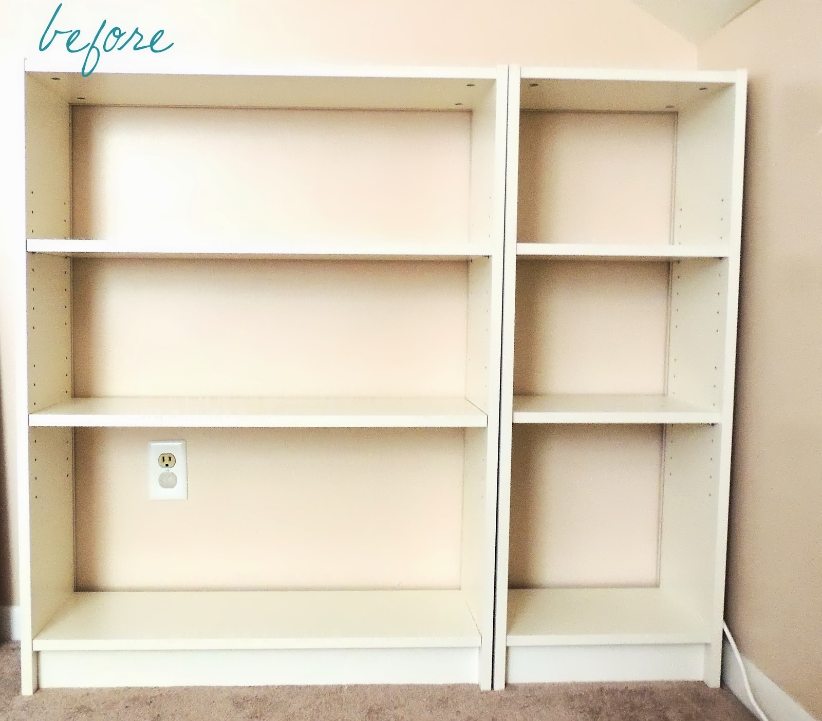 J.N. Taylor And Co.: Billy Bookcase Face Lift By: Jules Yap