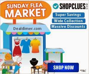 ShopClues Sunday Flea Market Upto 98% Off