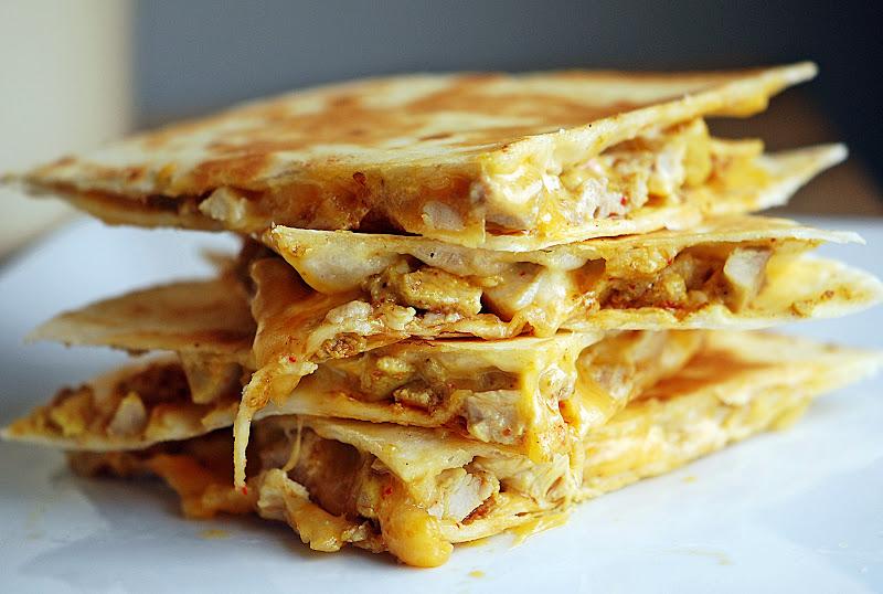 Tandoori Chicken Quesadillas | Mehan's Kitchen