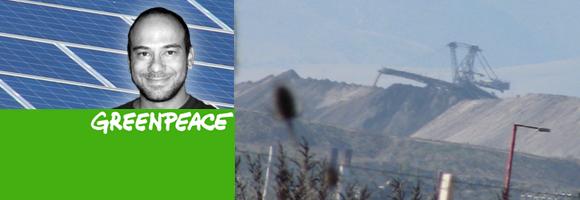 Τάκης Γρηγορίου, Greenpeace, Πτολεμαΐδα