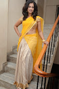 Nanditha raj latest photos in half saree-thumbnail-6