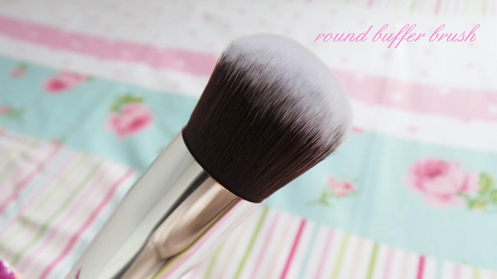 nanshy round buffer brush review