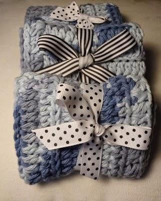 Free Crochet Pattern ~Taylors Washcloth http://www.niftynnifer.com/2015/01/free-crochet-pattern-taylors-washcloth.html #Crochet #Washcloth