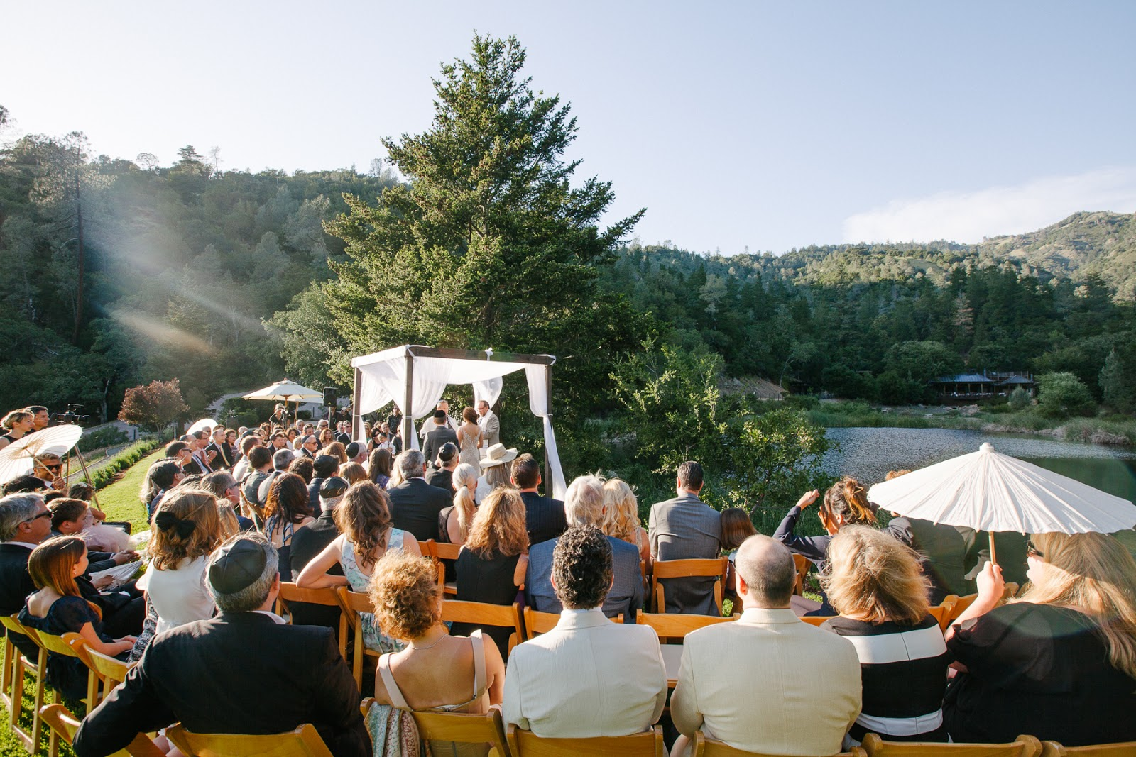 michelle walker photography calistoga ranch wedding
