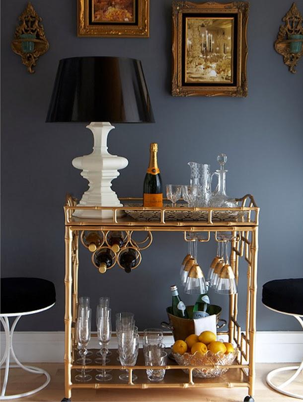 Charming ... Glass Decanter / Whiskey Ice Balls /Zara Home Drinkware / Striped  Straws / Sur La Table Stainless Steel Straws / Seletti Glass Bottles /  Golddust Bead ...
