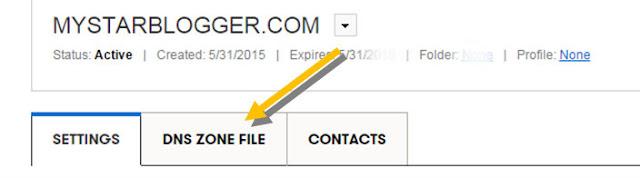 set custom domain via godaddy