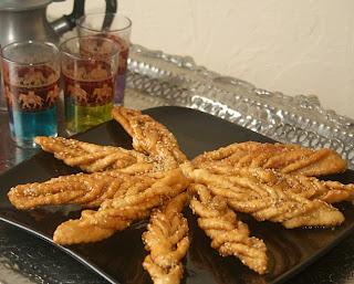 حلوى القريوشة الجزائرية 1