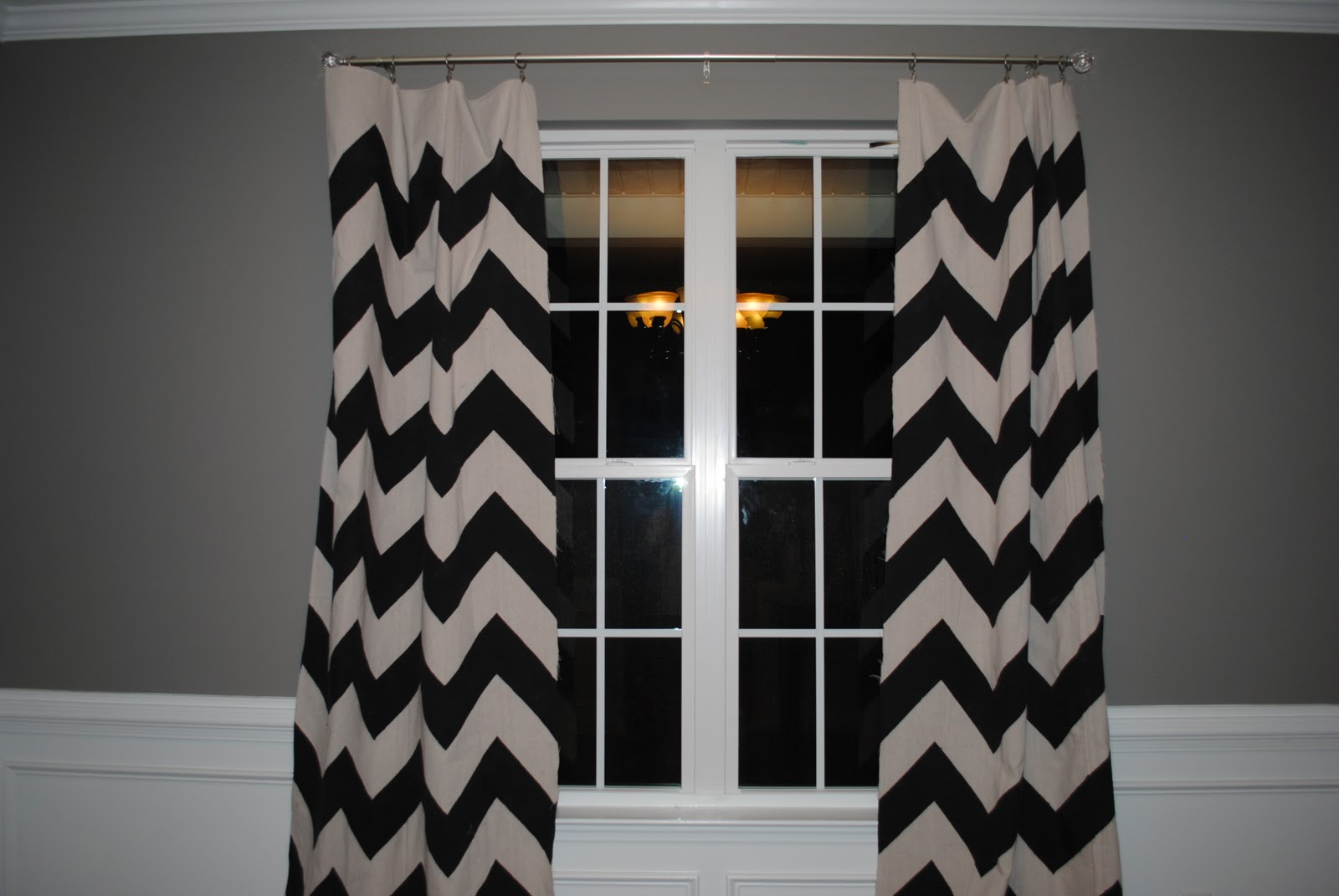 and curtains white chevron curtain pair beige black of x pin zag blue natural custom grommet panels zig bold drapes village