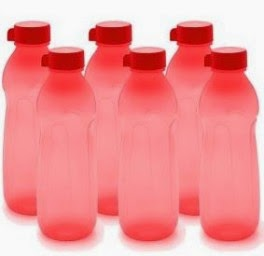 Buy Cello Cool Style Pp Bottle 600 Ml – Set Of 6 Red Rs. 169 only at Pepperfry.
