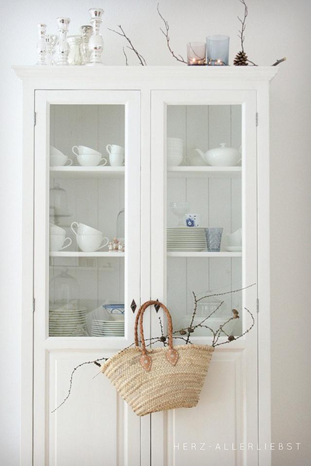 Armario Vitrina Antigua : Tr?s armarios vitrina de estilo vintage studio