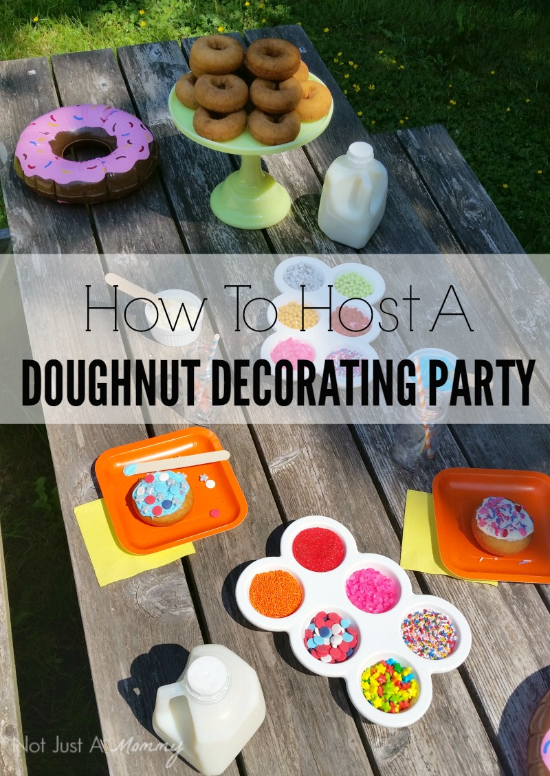 How To Host A Doughnut Decorating Party